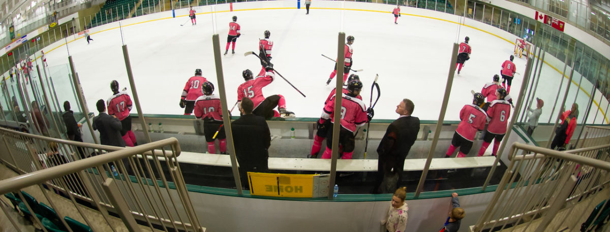 Pink In The Rink & A Win!